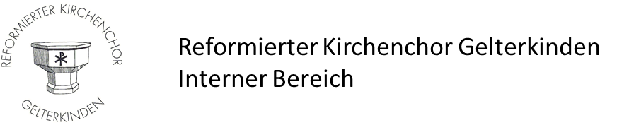 Downloads Reformierter Kirchenchor Gelterkinden
